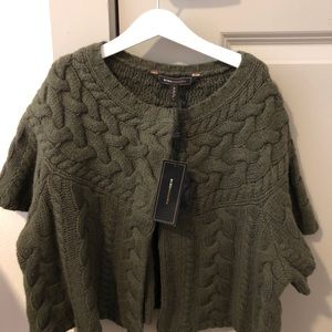 New BCBG knit cardigan sweater